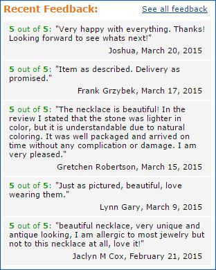 Moon Pixie positive feedback on Amazon.com